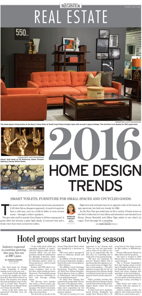 OC Register: 2016 Home Design Trends