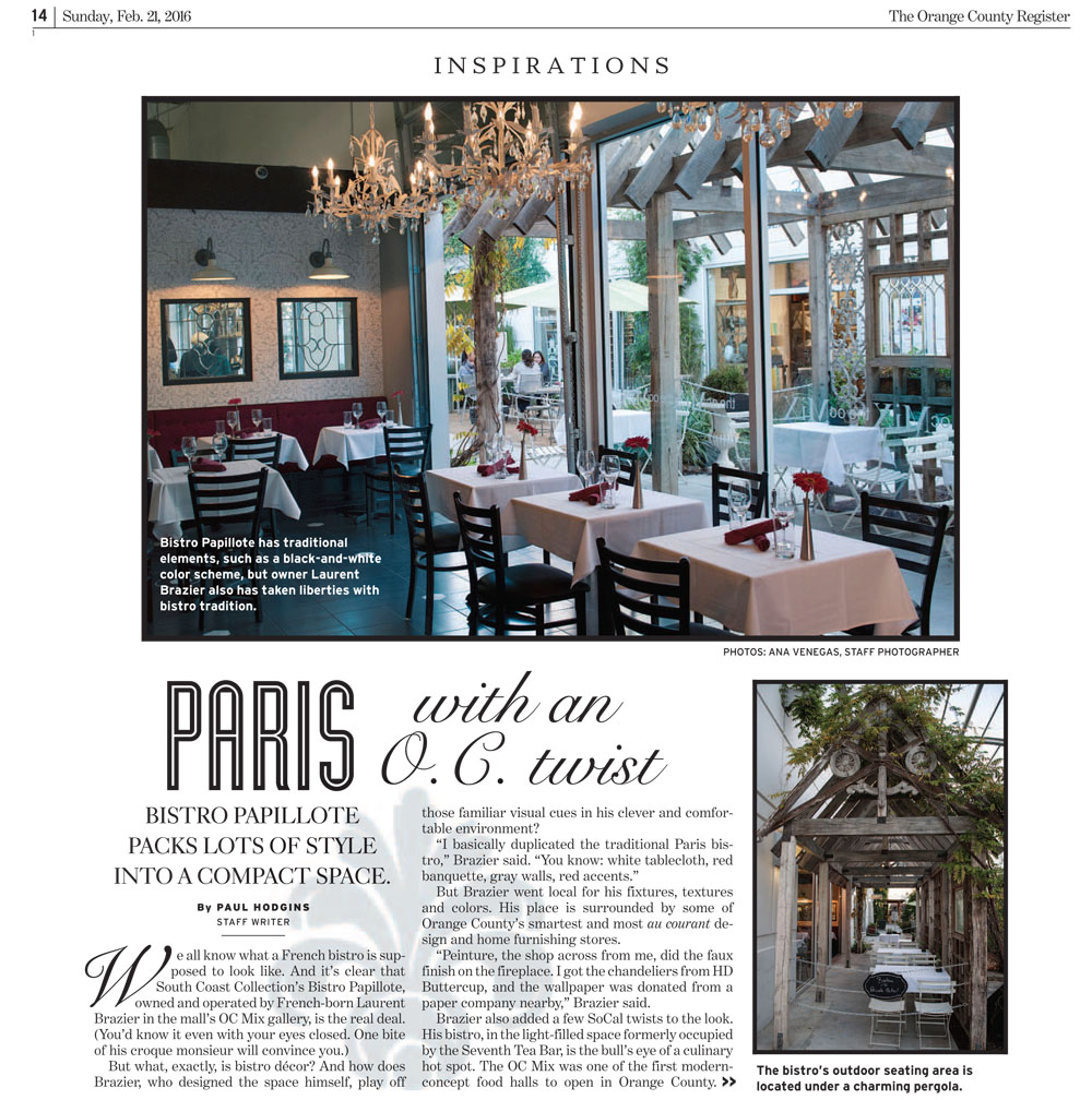 OC Register Bistro Papillote Packs Lots of Style 1