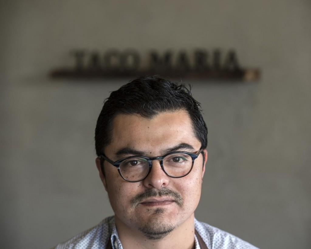 Taco Maria's Carlos Salgado a semifinalist of Culinary Excellence!