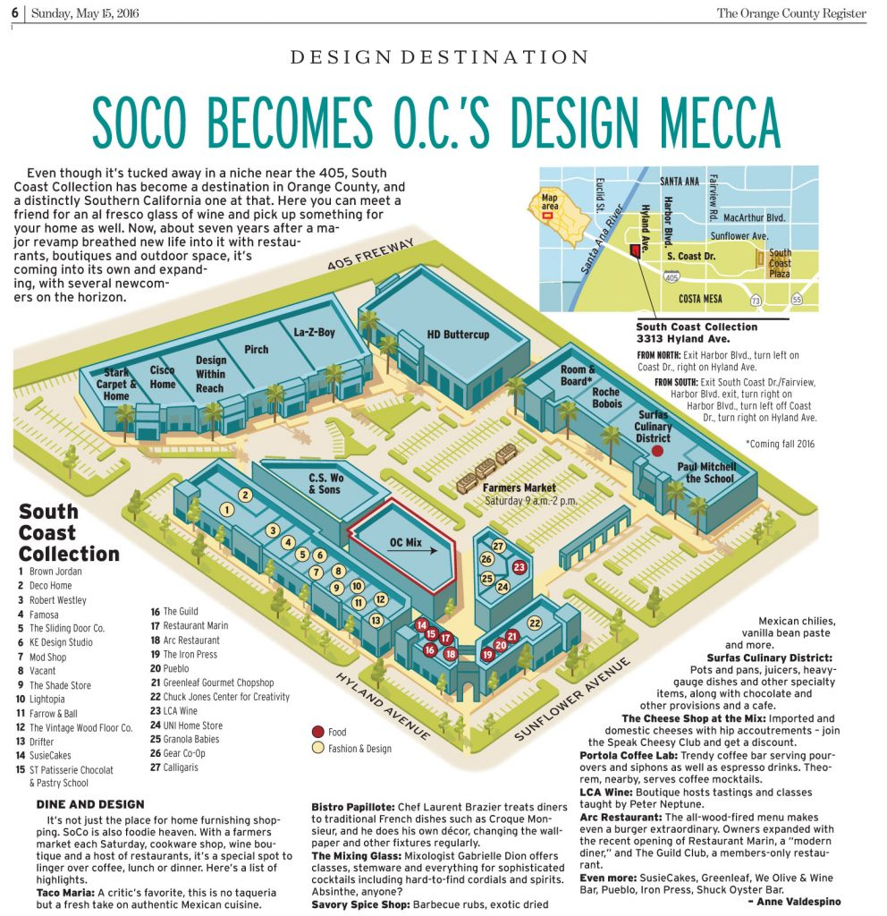 SOCO BECOMES OCS DESIGN MECCA 1